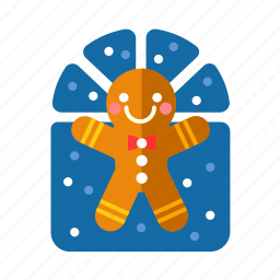 baked, bakery, christmas, cookies, gingerbread, xmas icon