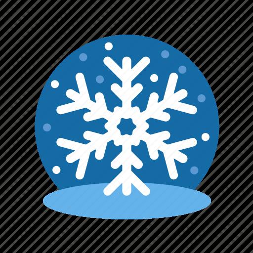 christmas, flakes, ice, ice flakes, snow flakes, snow globe, winter, xmas icon