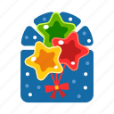 balloon, christmas, party, party balloon, star, xmas icon