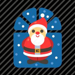 christmas, christmas father, claus, decoration, santa, santa claus, xmas icon