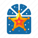 christmas, decoration, golden star, star, xmas