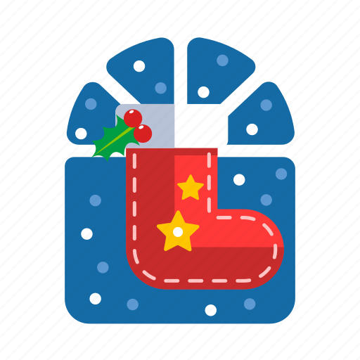 christmas, decoration, red socks, sock, stocking, xmas icon
