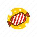 candy, christmas, sweets, taffy, xmas icon