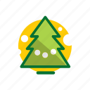 christmas, christmas tree, decoration, pine, tree, xmas icon