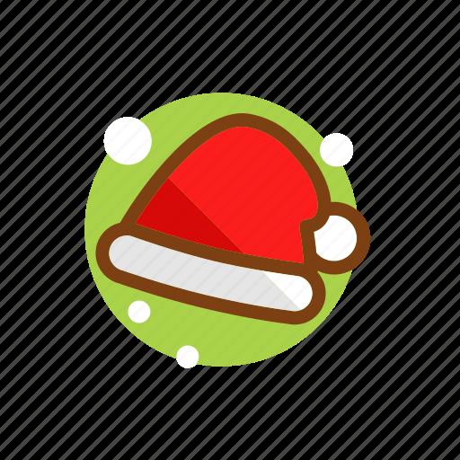 christmas, clothing, hat, headgear, santa, santa hat, winter, xmas icon
