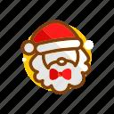 christmas, christmas father, claus, decorate, santa, santa claus, xmas icon