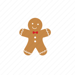 gingerbread, xmas icon