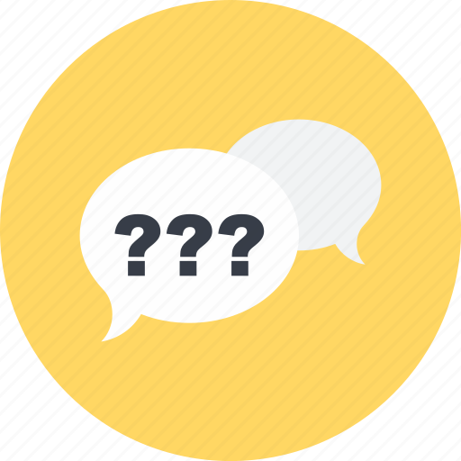 Chat, communication, conversation, multimedia, question, speech bubble icon - Download on Iconfinder