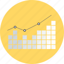 bar graph, bars chart, business, graphic, presentation, statistics, stats icon