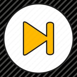 audio, forward, media, next icon
