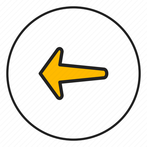 arrow, arrow left, direction, left icon