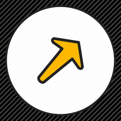 arrow left, arrow top, left, top icon