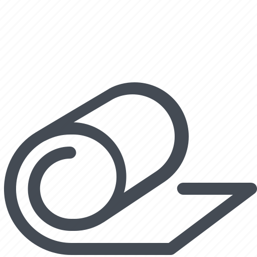 Exercise, fitness, gym, mat, pilates, yoga icon - Download on Iconfinder