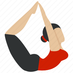 bodybuilding, exercise, fitness, gym, gymnastic, training, yoga icon