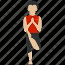 bodybuilding, exercise, fitness, gym, meditation, training, yoga icon