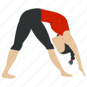 exercise, fitness, health, healthy, slim, training, yoga icon