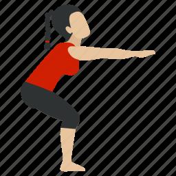 body, health, healthy, medical, medicine, yoga, yogastreching icon
