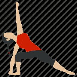 exercise, fitness, gym, meditation, training, yoga, yogaexercise icon