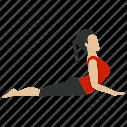 exercise, fitness, gym, health, healthy, yoga, yogapose icon