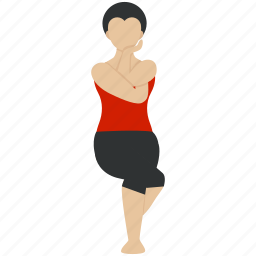 beauty, body, excercise, fitness, health, yoga, yogawoman icon