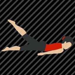 aerobic, bodybuilding, exercise, fitness, gym, training, yoga icon