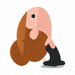 avatar, exercise, fitness, health, pose, relaxation, yoga icon
