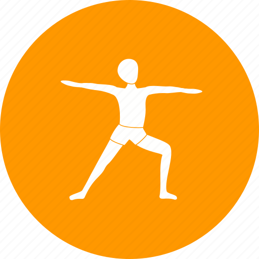 exercise, fitness, left, pose, warrior, yoga, young icon