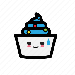 cold, fruit, ice, topping, yoghurt icon