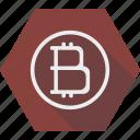 bitcoin, blockchain, finance, mining icon