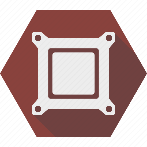 chip, computer, cpu, electronic, hardware, processor icon