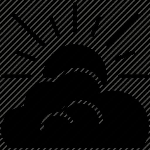 cloud, farm, forecast, patchy cloud, sun, weather, yumminky icon