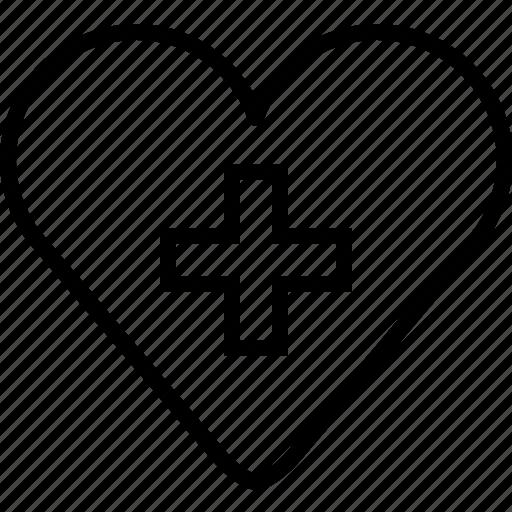 health, heart, hospital, love, medical, medicine, yumminky icon