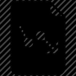 document, file, graph, loss, pc, report, yumminky icon