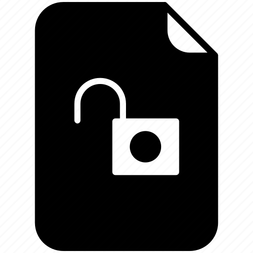 document, file, lock, pc, unlocked, unsafe, yumminky icon