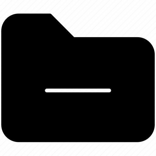 document, folder, less, minus, pc, remove, yumminky icon