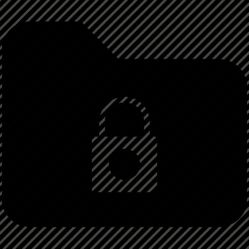 document, folder, lock, locked, pc, safe, yumminky icon