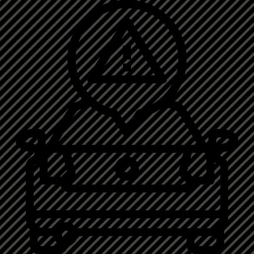 Alert, car, life, triangle, volkswagen, warning icon - Download on Iconfinder