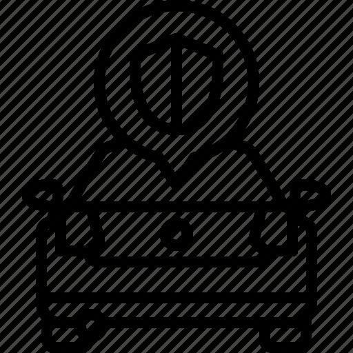 Alarm, car, life, protection, shield, volkswagen icon - Download on Iconfinder