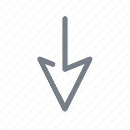 arrow, back, direction, down, download, navigation icon