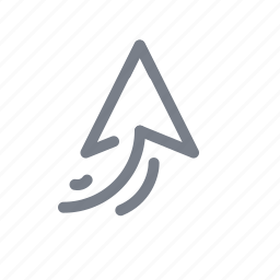 arrow, direction, forward, navigation, up icon