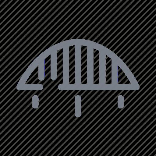 Bridge, road, traffic, transport, travel, way icon - Download on Iconfinder
