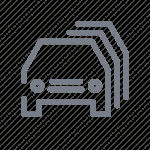 auto, car, cars, traffic, traffic jam, travel, vehicle icon
