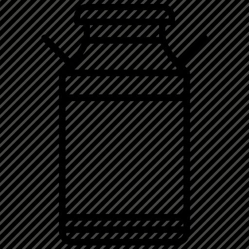 Bottle, farm, jar, milk, milk container, yummy icon - Download on Iconfinder