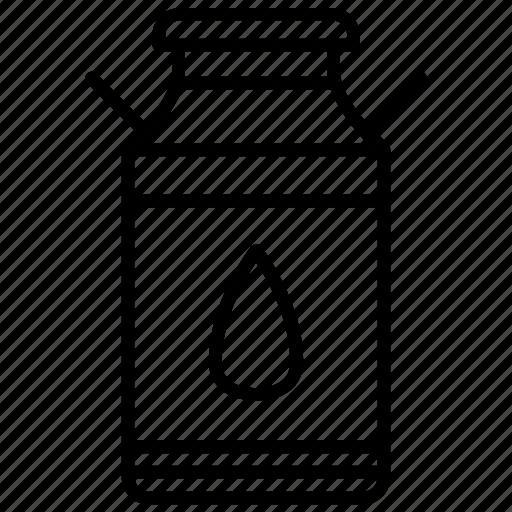 bottle, farm, jar, milk, milk container, yummy icon