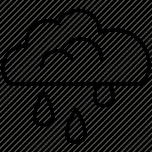 cloudy, farm, forecast, rain, sky, weather, yummy icon