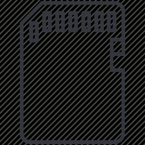 card, data, memory, photo, sd card, storage, yummy icon