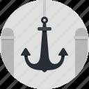 anchor, marine, sea, ship, ocean