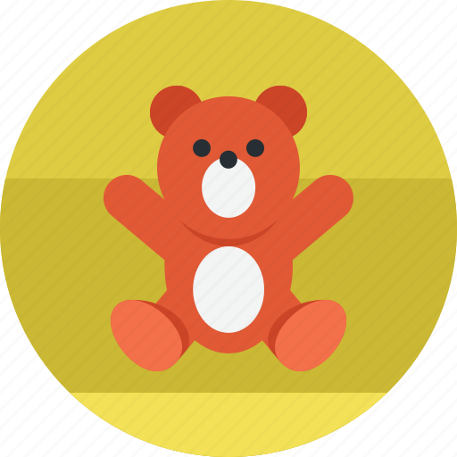 animal, baby, bear, child, teddy, toy icon