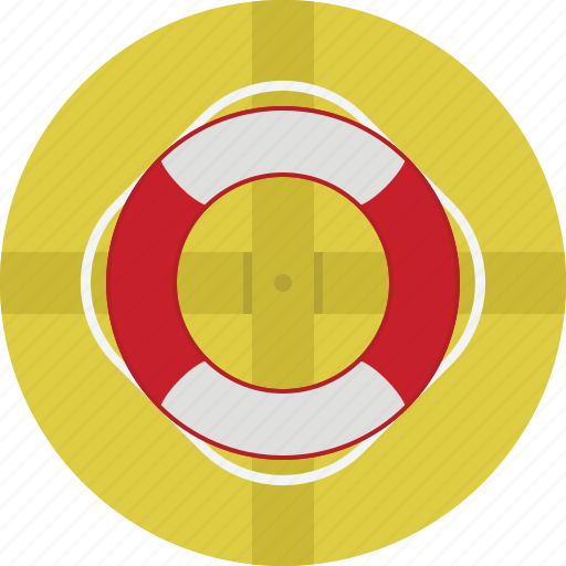 buoy, help, life, ring, service, support icon