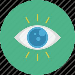 business, eye, marketing, search, seo, view, web icon